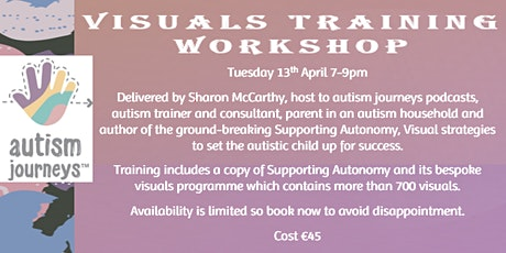 Supporting Autonomy: Using Visuals to Provide Support & Structure in Autism tickets