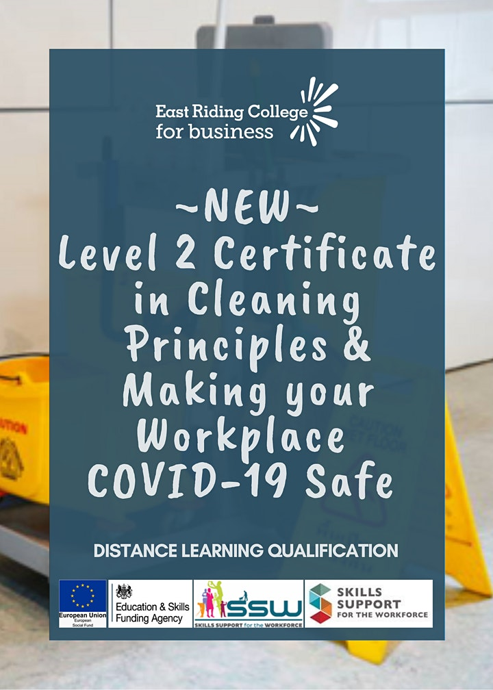 Certificate in Cleaning Principles & Making your Workplace COVID-19 Safe image