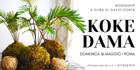 Workshop di Kokedama tickets