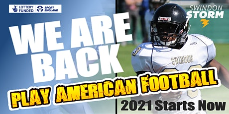 Play American Football For Swindon! Ages 16+ and 18+teams taster sessions tickets