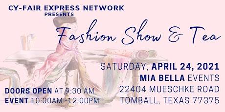 Fashion Show & Tea tickets