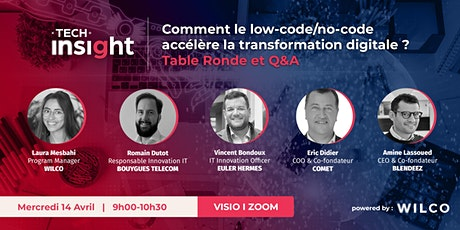 TECH INSIGHT - L'impact du low-code/no-code sur la transformation digitale billets