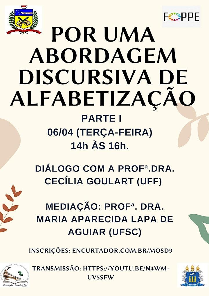 Imagem do evento POR UMA ABORDAGEM DISCURSIVA DE ALFABETIZAÇÃO