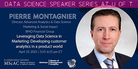 Data Science Speaker Series at U of T:  Pierre Montagnier tickets
