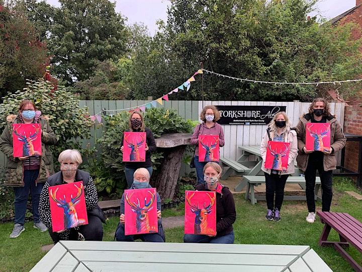 'Celebrations' Painting  workshop @ Yorkshire Ales image