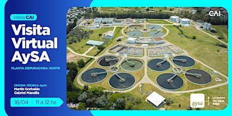 Visita virtual a Planta Depuradora Norte – AySA boletos