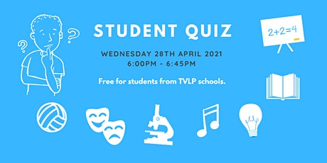 TVLP student quiz tickets
