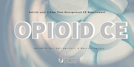 Pain Management CE with Drs. Neil Agnihotri & Mauricio Herrera tickets