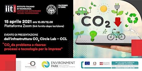 CO2 da problema a risorsa: processi e tecnologie per le imprese biglietti