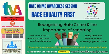 Hate Crime Awareness Webinar tickets