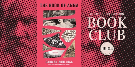 Women in Translation: The Book Of Anna tickets