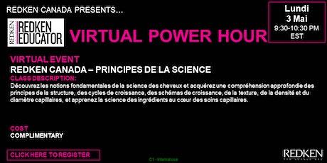 REDKEN CANADA - PRINCIPES DE LA SCIENCE tickets