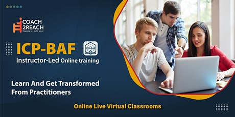 ICAgile ICP-BAF Business Agility Foundations Certification (weekend) Online tickets