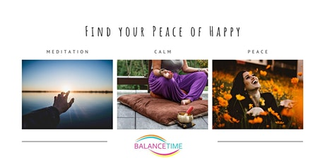 Evening - Find your peace of happy - Meditation Course tickets