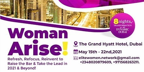 WOMEN ARISE DUBAI 2021 tickets