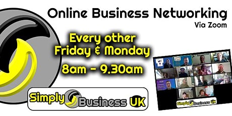 Simply Business Club -  Online Business Networking tickets