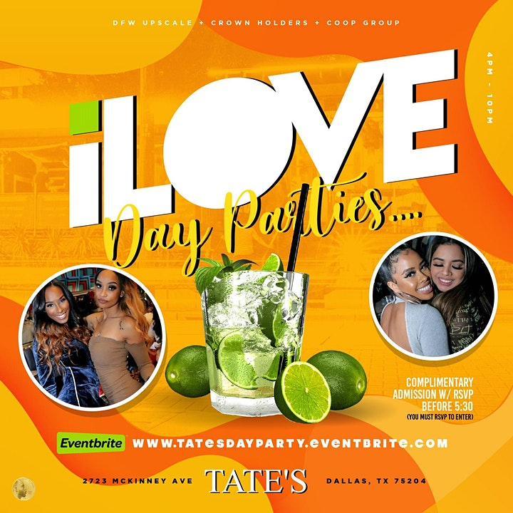I Love Day Parties   @ Level Uptown image