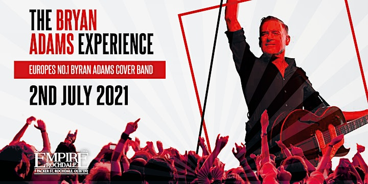 The Bryan Adams Experience : Taking you back to the summer of 69 image