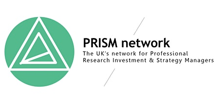 PRISM discussion group: In the spotlight - What we love about our work tickets