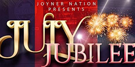 July Jubilee tickets