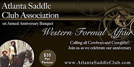 ASCA Anniversary - Western Formal Affair tickets