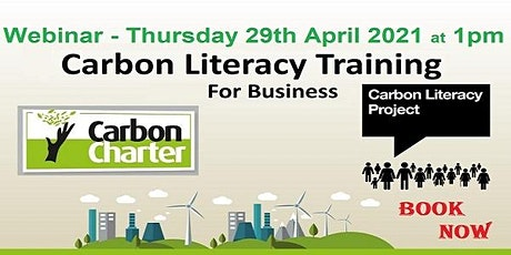 Carbon Literacy - What YOU need to know tickets