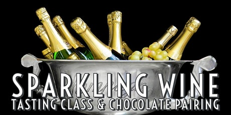 Sparkling Wine Tasting Class & Chocolate Pairing tickets