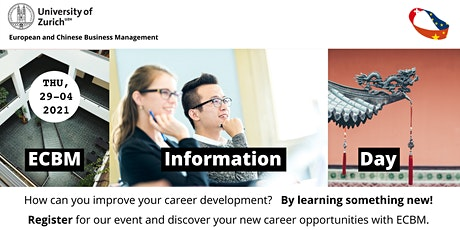 Information Day - European and Chinese Business Management Study Programs tickets