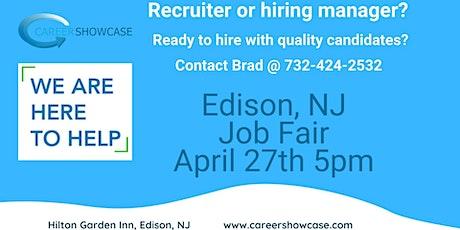 ATTN: Hiring Managers Job Fair Edison, NJ tickets