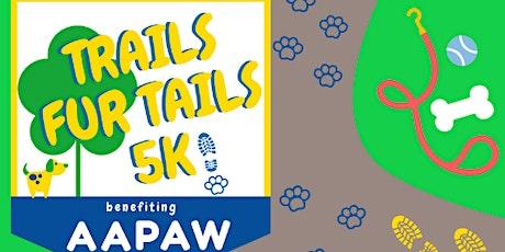 2021 Trails Fur Tails 5k - Sponsorships tickets