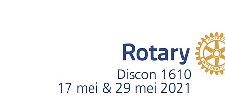 Discon 1610 -  17 & 29 mei 2021 tickets