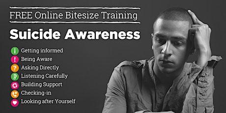 Suicide Awareness, Bitesize Training tickets