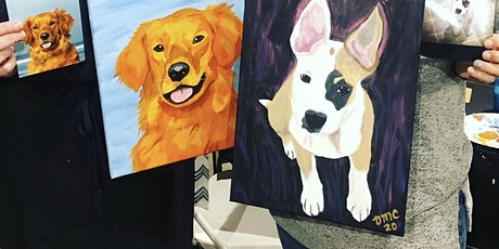Paint your Pet Portrait Class at Trinity Vineyards tickets