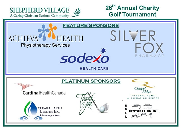 Shepherd Village 26th Annual Charity Golf Tournament – June 22, 2021 image