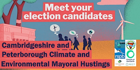 Cambridgeshire & Peterborough Climate and Environmental Husting tickets