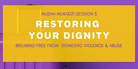 Restoring Your Dignity: Musha Mukadzi Series entradas