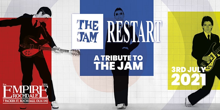 The Jam Restart -Tribute to The Jam @ Empire Rochdale image