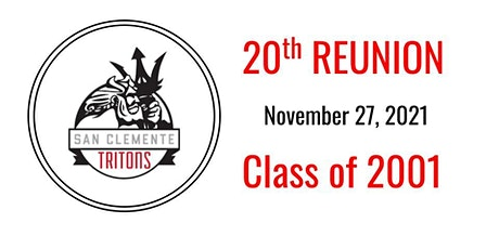 SCHS CLASS OF 2001-20TH REUNION tickets