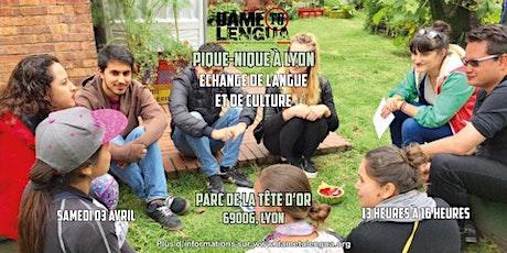 ¡Dame tu Lengua Lyon! Échange de langues & cultures billets
