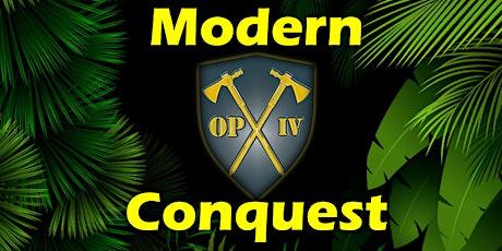 Modern Conquest tickets
