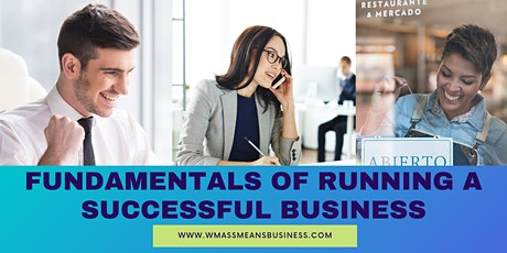 Fundamentals of Running a Successful Business (Webinar Series) tickets