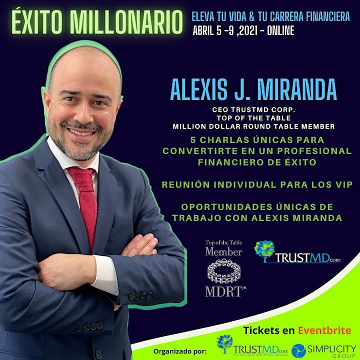 Imagen de ÉXITO MILLONARIO - Eleva tu vida & tu carrera financiera