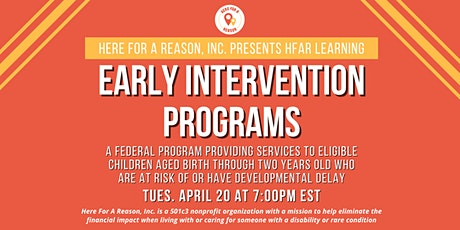 HFAR Learning: Early Intervention Programs tickets