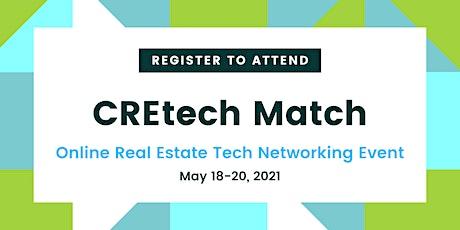 CREtech Match Networking Event tickets