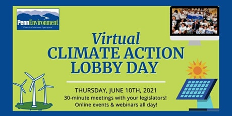 PennEnvironment's Virtual Climate Action Lobby Day tickets