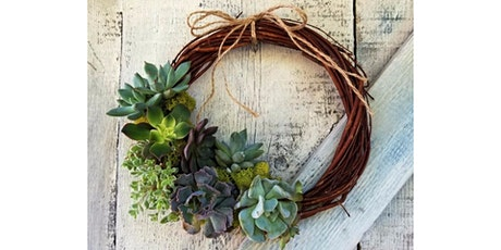 Succulent Wreath at Whitman Hill Winery, ZILLAH tickets