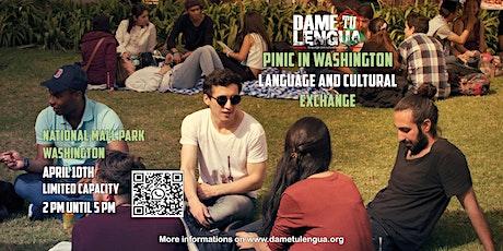 Dame tu Lengua Washington! Language and cultural exchange tickets