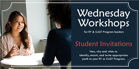 Wednesday Workshop: Student Invitations tickets