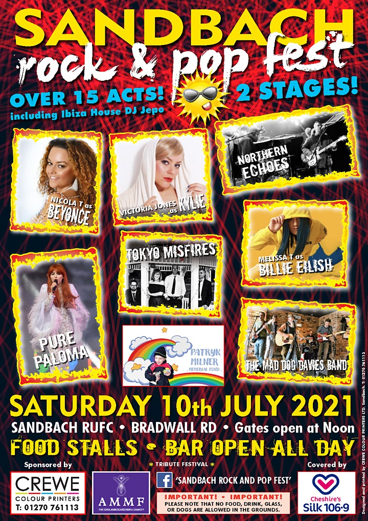 Sandbach Rock n' Pop Fest 2021 image