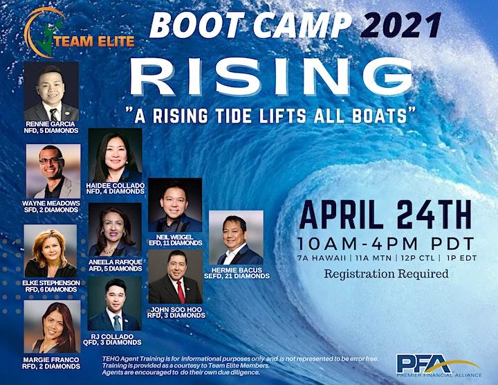 Team ELITE Bootcamp - Rising image